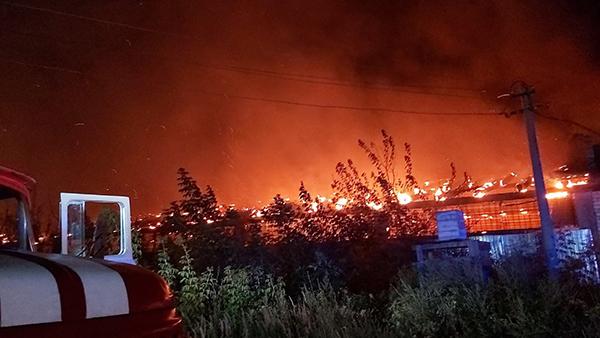 Пожар на патронном заводе в Ульяновске(2020)|Фото: ГУ МЧС России по Ульяновской области