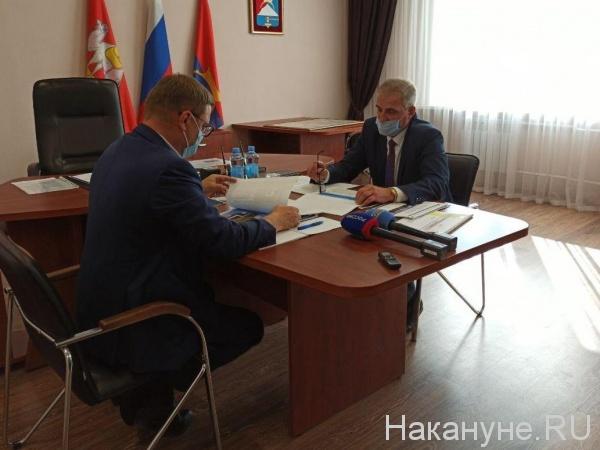 Алексей Текслер, Сергей Семков(2020) Фото: Накануне.RU