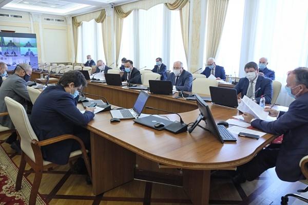 Алексей Орлов, Александр Высокинский, совещание(2020)|Фото: ДИП Свердловской области