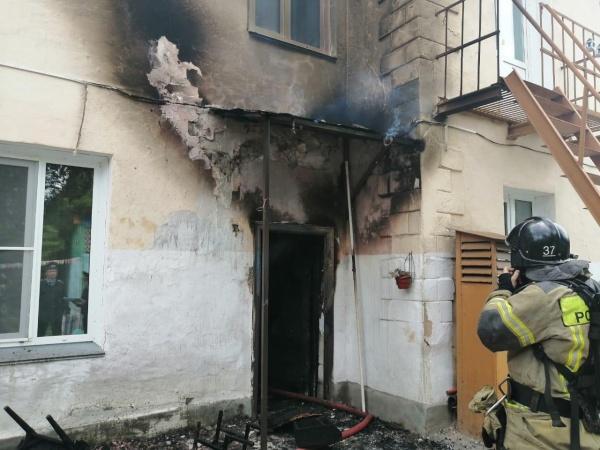 пожар в детском саду в Коркино(2020)|Фото: ГУ МЧС по Челябинской области