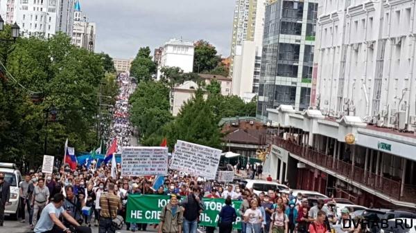 митинг, Фургал, протест, Хабаровск(2020)|Фото: DVhab.ru
