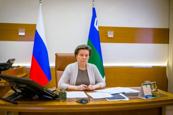 Наталья Комарова, прямой эфир, нековидная медицина(2020) Фото: admhmao.ru