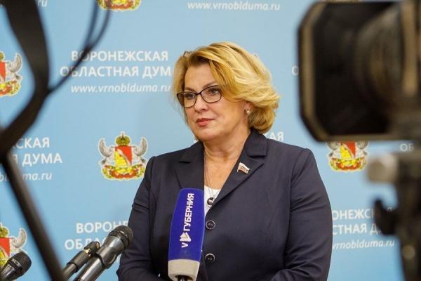 Людмила Ипполитова(2020) Фото: vrnoblduma.ru