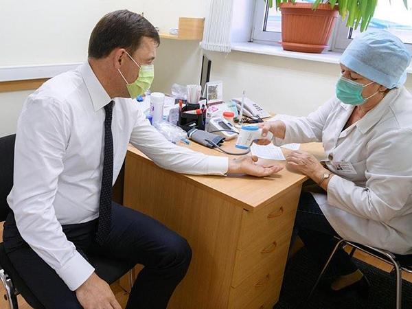 Евгений Куйвашев, прививка(2020)|Фото: instagram.com/evgenykuyvashev