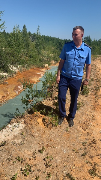 бывший Левихинский рудник, прокурор(2020) Фото: прокуратура Свердловской области