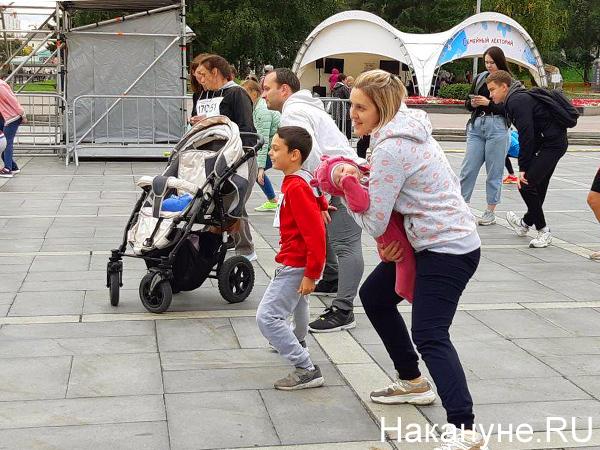 скрепафест, семейный забег(2020) Фото: Накануне.RU