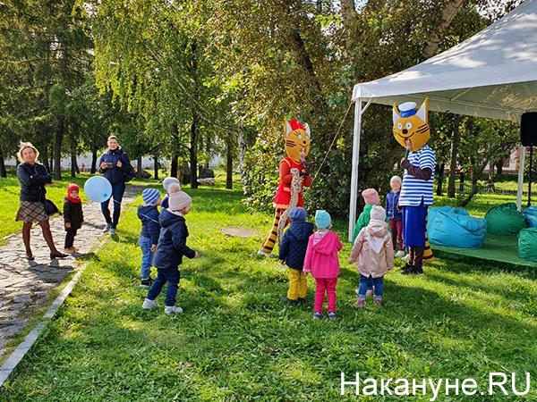 скрепафест, дети, аниматоры(2020) Фото: Накануне.RU