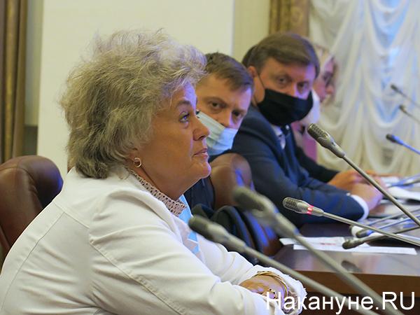 Татьяна Николаева, встреча главредов СМИ с Николаем Цукановым(2020) Фото: Накануне.RU