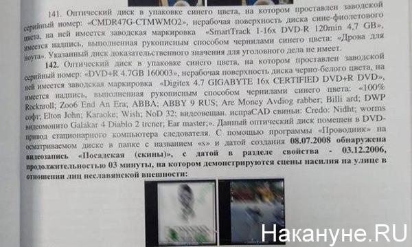 "Материалы по делу ""уктусского стрелка""(2020)|Фото: Накануне.RU"