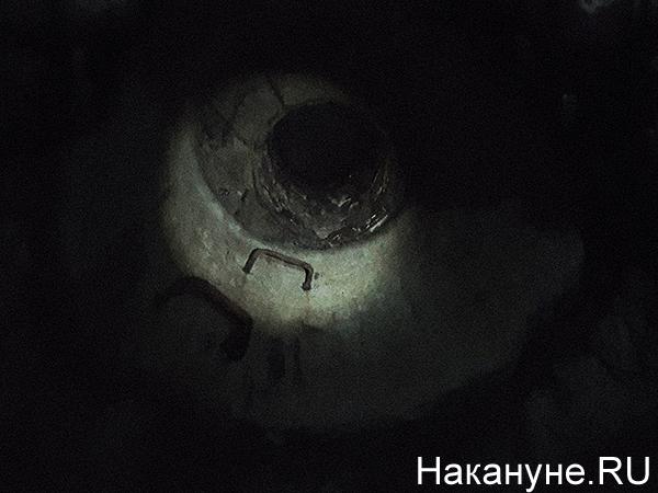 Подземелья Екатеринбурга, люк(2020)|Фото: Накануне.RU