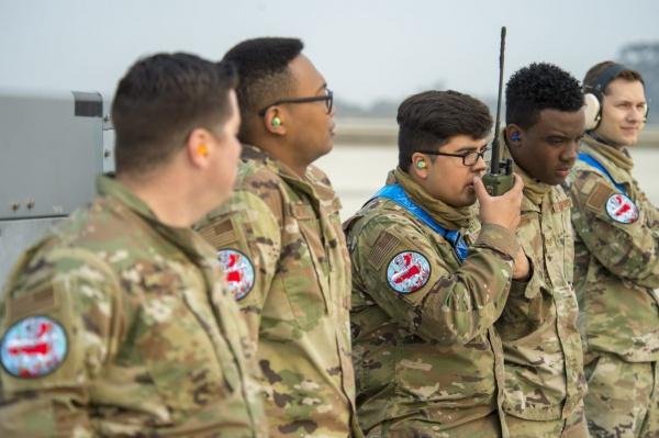 Американские операторы беспилотников на учениях(2020) Фото: airforcemag.com