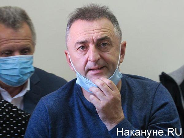 Заседание суда по делу Владимира Романюка и Сергея Глущенко(2020)|Фото: Накануне.RU