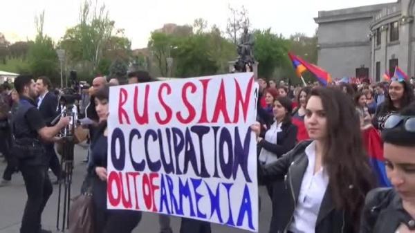 Антироссийский митинг в Армении(2020)|Фото: cont.ws