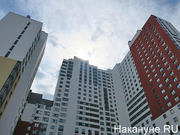 Новостройка в Верх-Исетском районе Екатеринбурга(2020) Фото: Накануне.RU