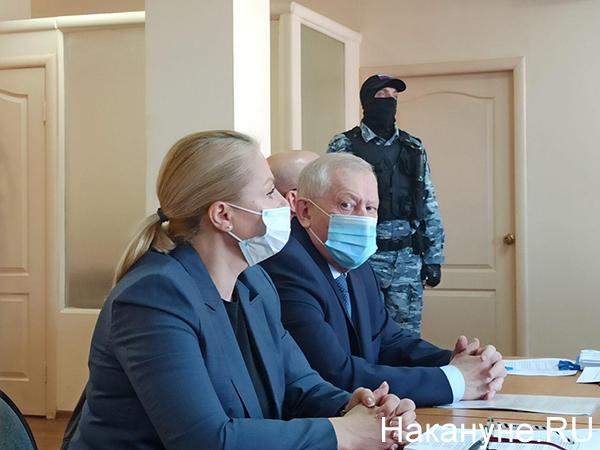 Евгений Тефтелев в суде(2020)|Фото: Накануне.RU