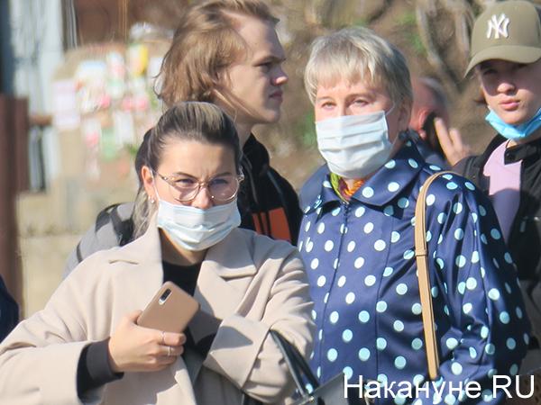 Медицинские маски(2020)|Фото: Накануне.RU