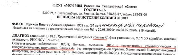 Виктор Горсков, документ(2020)|Фото: Виктор Горсков