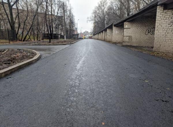 Асфальт, спортбаза, улица Тихая, Пермь(2020) Фото: Администрация Перми, Павел Воробьёв