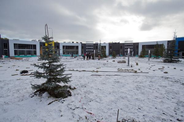 новая инфекционная больница, строительство,(2020)|Фото: пресс-служба губернатора Челябинской области