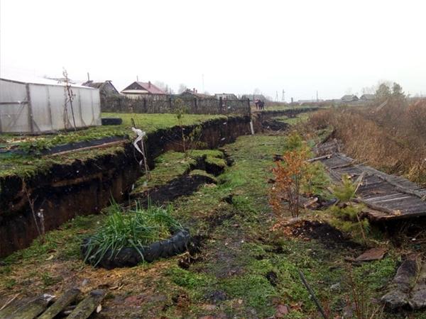 оползень в деревне Верхняя Иленка(2020)|Фото: 66.mchs.gov.ru
