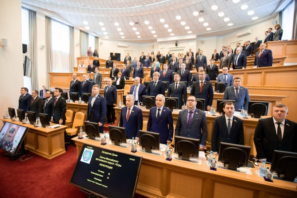 Дума Югры, депутаты, зал заседаний(2020)|Фото: Дума Югры, Владимир Андрюхин