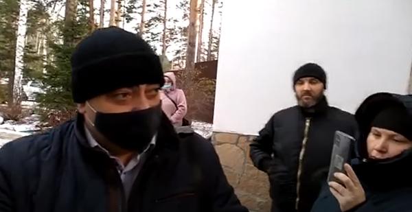 Визит силовиков в Среднеуральский женский монастырь(2020)|Фото: youtube.com/Всеволод Могучев