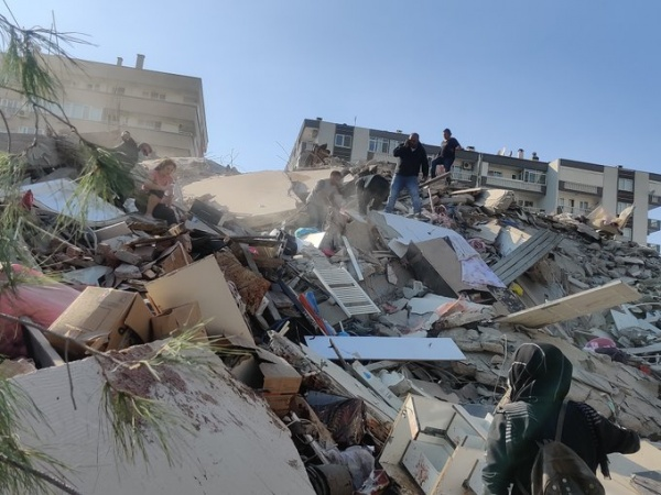 Землетрясение в Турции.(2020)|Фото: Anadolu Agency