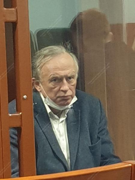 Историк Олег Соколов на суде.(2020) Фото: Объединенная пресс-служба судов Санкт-Петербурга