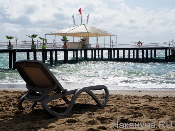 отпуск, отдых, туризм, море, пляж, шезлонг, Турция(2020)|Фото: Накануне.RU