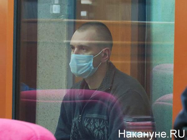 """Суд по делу """"тагильского стрелка"""" Александра Борисова(2020) Фото: Накануне.RU"""