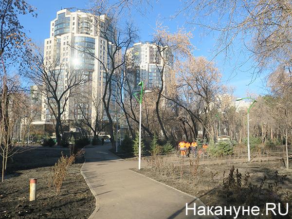 """Парк """"Зеленая роща""""(2020) Фото: Накануне.RU"""