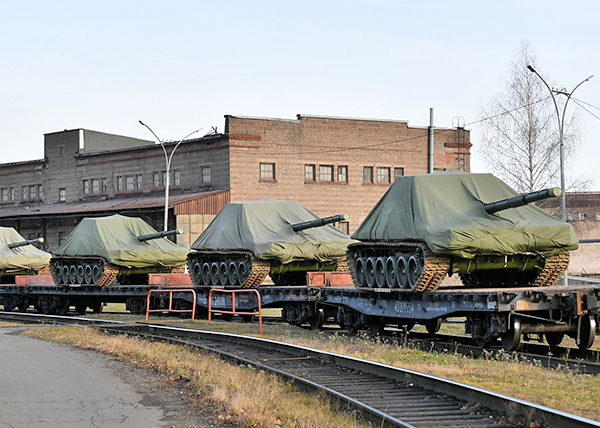 Танки Т-72Б3(2020) Фото: uralvagonzavod.ru