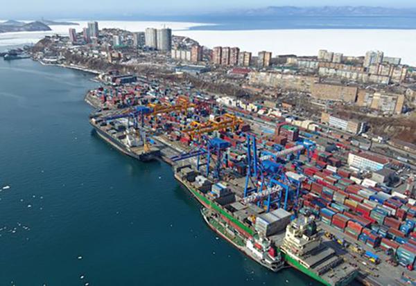 Владивостокский морской торговый порт(2020) Фото: vmtp.ru