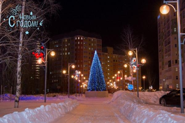нижневартовск, новый год, новогоднее оформление(2020)|Фото: пресс-служба администрации Нижневартовска