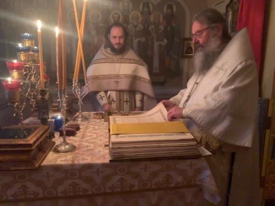 митрополит Кирилл нарушил самоизоляцию(2020)|Фото: Пресс-служба епархии