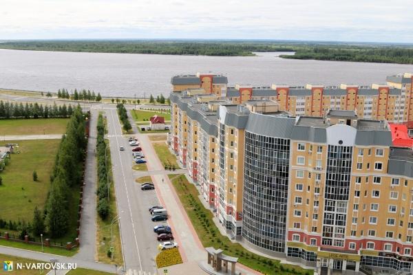нижневартовск, панорама, набережная, жилье(2020)|Фото:пресс-служба администрации Нижневартовска