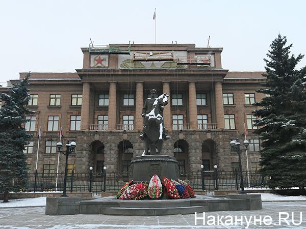 Здание штаба Центрального военного округа в Екатеринбурге(2020)|Фото: Накануне.RU