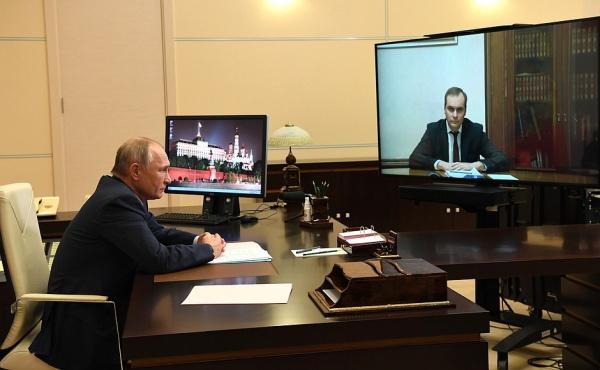 Владимир Путин, Артём Здунов(2020)|Фото: kremlin.ru