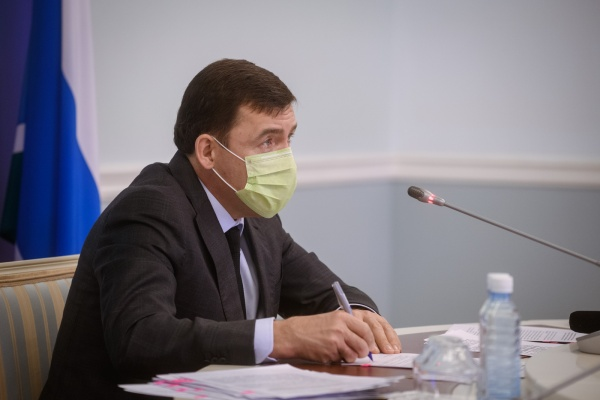 Евгений Куйвашев(2020) Фото: ДИП Свердловской области