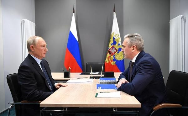 Владимир Путин, Александр Моор(2020)|Фото: kremlin.ru