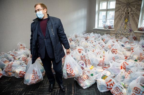 гуманитарная помощь, воронежская областная дума(2020)|Фото:пресс-служба Воронежской областной думы