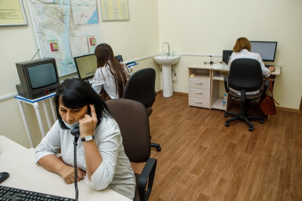 колл-центр, помощь, ковид(2020)|Фото:пресс-служба Воронежской областной думы