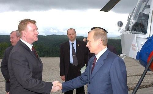 Владимир Путин, Анатолий Чубайс(2020)|Фото: kremlin.ru