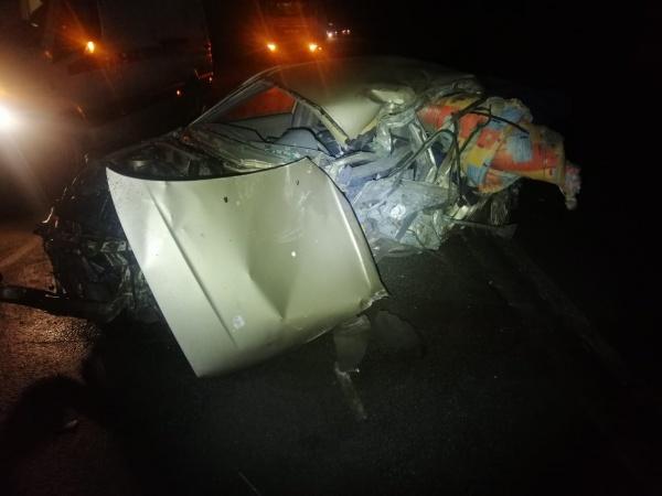 Авария с участием Hyundai Accent.(2020)|Фото: УГИБДД ГУ МВД России по Свердловской области