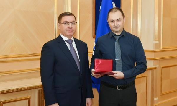 Владимир Якушев, вручение госнаград(2020)|Фото: Администрация Ямала