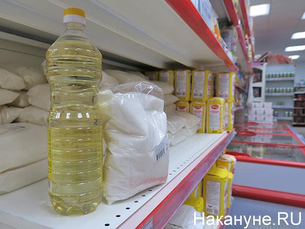 Подсолнечное масло, сахар(2020)|Фото: Накануне.RU