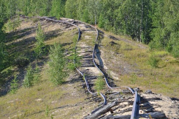 501 стройка, трансполярная магистраль, рельсы(2020)|Фото:  Игорь Первый | vk.com/stroika.gulag