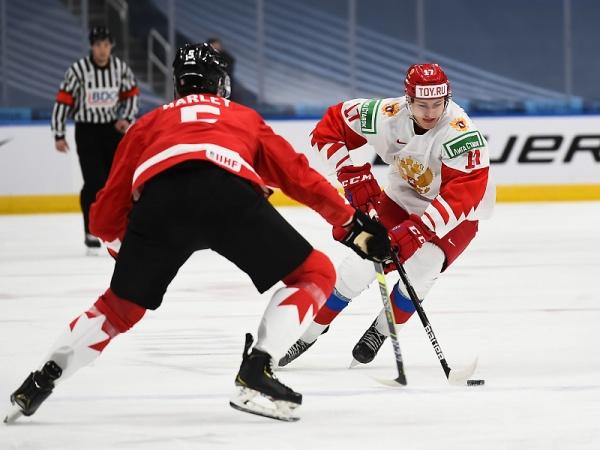 молодежная сборная по хоккею, Россия - Канада(2021)|Фото: fhr.ru
