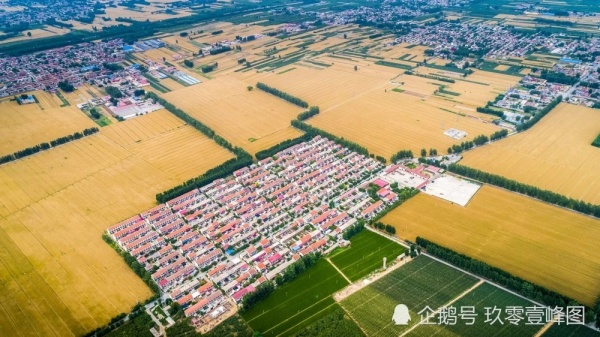 Вид на коммуну Чжоуцзячжуан(2021)|Фото: kuaibao.qq.com