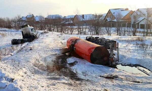 автоцистерна, нефть(2021)|Фото: 56.mchs.gov.ru